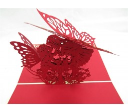 Cupid Angels I Love You Cards Laser Cut Specially Imported from UK