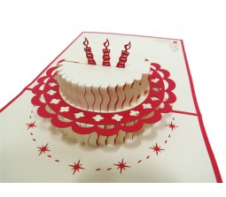 3D Happy Birthday Cake Laser Cut Specially Imported from UK