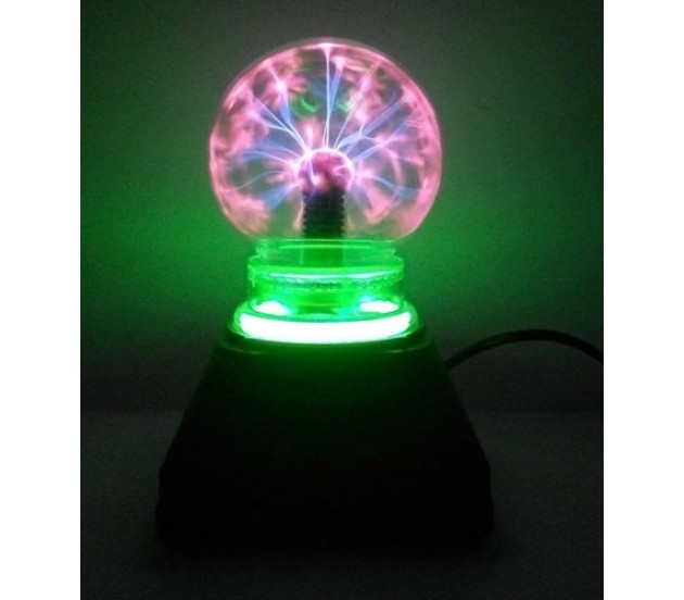 4 Quot Musical Plasma Light Lamp Glows Brighter On Finger Touch