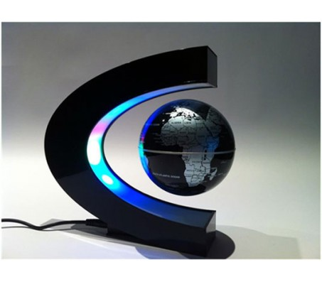 Levitation Magnetic Globe Anti Gravity Magic [Floating Globe] C Shape