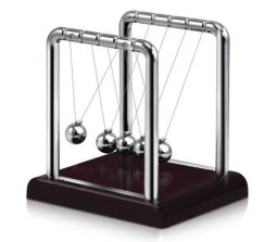 Square Style Newton's Cradle Steel Balance Ball Physics / Science Fun Small
