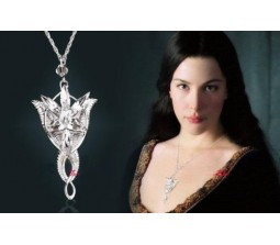 Lord Of The Rings Arwen Hobbit Necklace Evenstar Pendant Chain