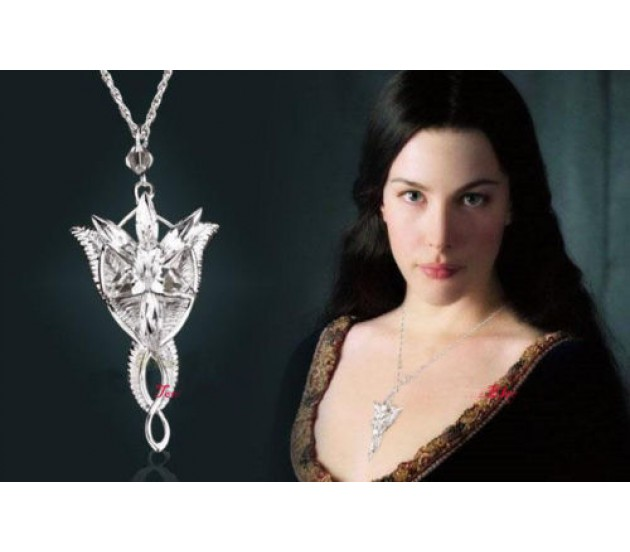 Lord of the rings arwen hobbit necklace evenstar pendant chain aloadofball Choice Image