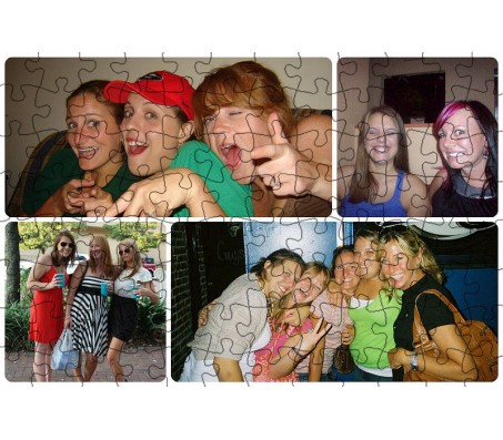 Personalized Customized Photo Jigsaw Puzzle A4 Size Big Puzzle Birthday Gift