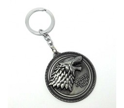 Game Of Thrones Winter Is Coming Keychain For Cars And Bikes