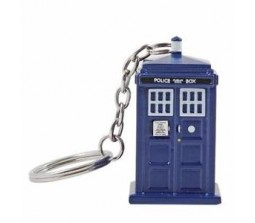 Dr Who 3D Tardis Police box Key chain