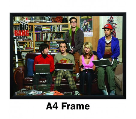 Big Bang Theory First Season Poster by By Happy GiftMart Licensed by WB