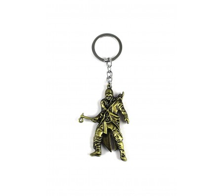 Assassin Creed metal keychain for cars and bikes