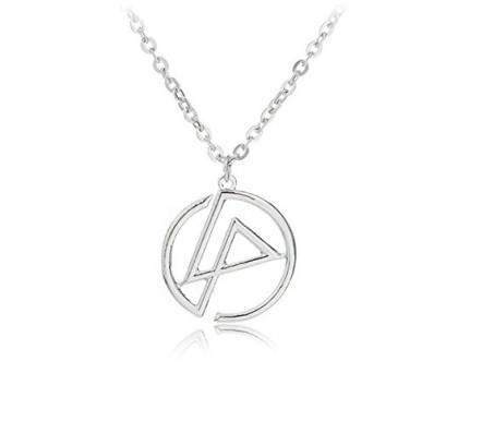 Linkin Park Inspired Logo Pendant Necklace for Men and Women