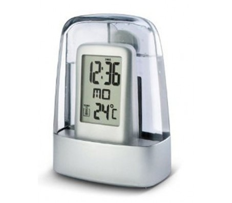 H2O Water Powered Digital Clock [Works on Water - No Battery]