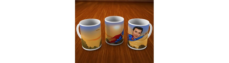 Caricature Mugs