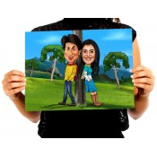 Caricature Posters For Couples