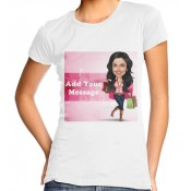 Caricature T Shirt For Her