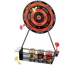 Drinking Magnetic Darts Bar Game Shot Glass Birthday Roulette Party
