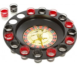 16 Shot Glass Drinking Roulette Game