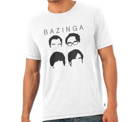 Big Bang Therory 4 Heads T - Shirt