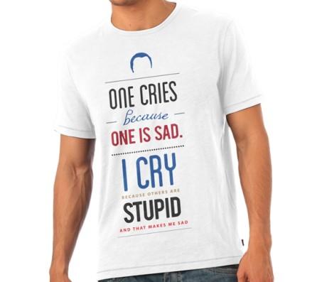 Big Bang Therory I cry T - Shirt