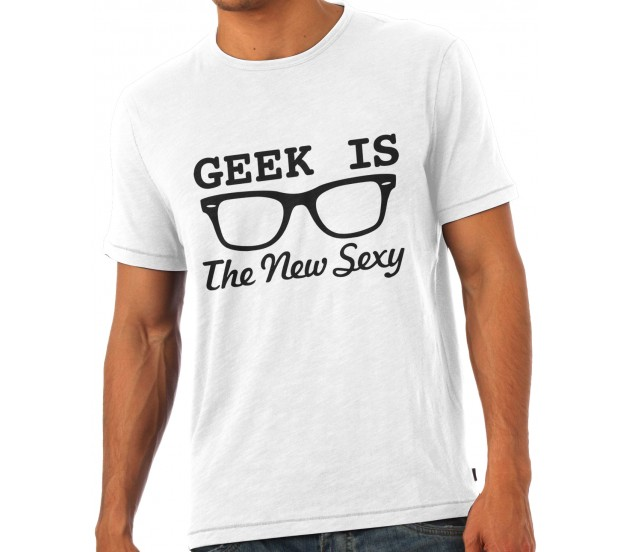 9e7e363f8 Geek Is The New Sexy T-Shirt