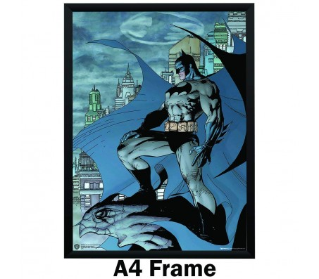 Batman Comic Eagle Stand Poster by Happy GiftMart by WB