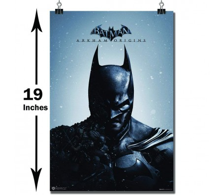 Batman Arkham Origins Game Poster by Happy GiftMart Licensed by WB