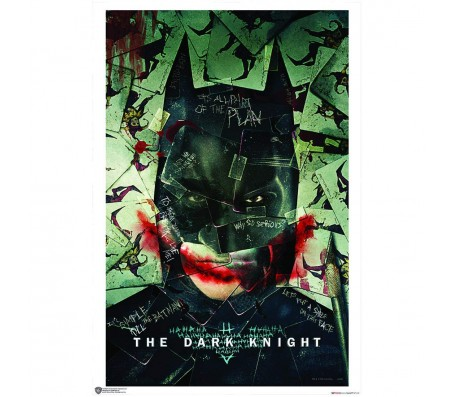 Batman Cape Blowing Poster by Happy GiftMart Licensed by WB