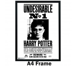 Harry Potter 'Undesirable No.1' Poster By Happy GiftMart Licensed by WB