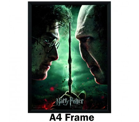 Harry Potter Voldemort Face 2 Face Poster By Happy GiftMArt Licensed by WB