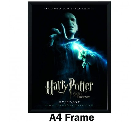 Harry Potter Lord Voldemort The Order of the Phoenix Poster By Happy GiftMart Licensed by WB