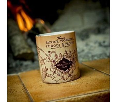 Magic Marauders Map Harry Potter Fan Mug Funny Cup For Friends Color Heat Change