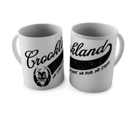 Joker Crook Land Coffee Mug Licensed By WB