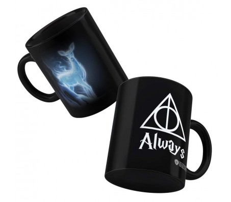 Ceramic Harry Potter Always Patronus Stag Coffee Mug (300ml) Licensed By WB