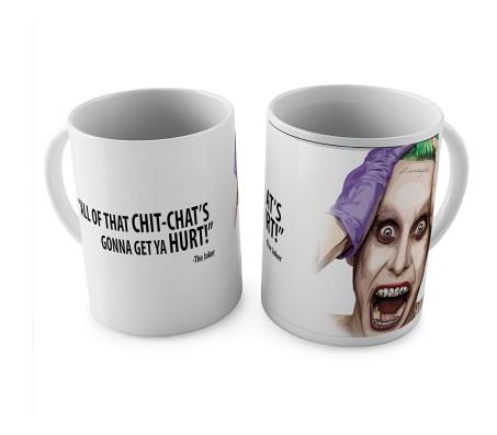 Joker Chitchat Coffee Mug Licensed By WB