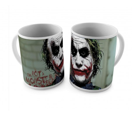 Joker I'm Not A Monster Coffee Mug Licensed By WB