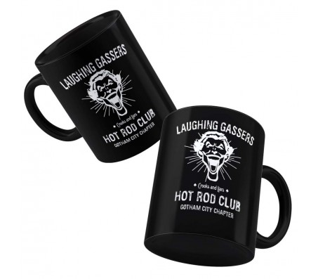 Laughing Gassers Joker Hot Rod Club Coffee Mug Licensed By WB
