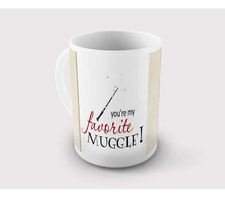 Harry Potter You are My Favorite Muggle Coffee Mug Licensed By WB