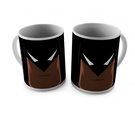 Batman Minimal Design Coffee Mug Perfect Gift Option For Batman Lovers. Birthday Gift Idea Licensed By WB