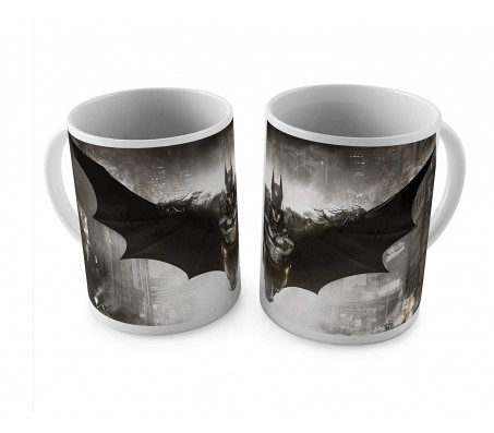 1 Mug of Batman Arkham Knight Teaser Coffee Mug Birthday Gift Idea Licensed By WB