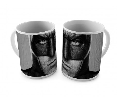 1 Mug of Batman Justice League Face Coffee Mug Birthday Gift Idea Licensed By WB