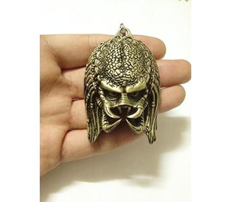 AVP: Alien vs. Predator Gold Plated Keychain Alloy Key Chain