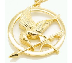 Famous Hunger Games Mockingjay Bird Unisex Necklace