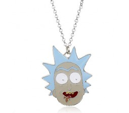 Rick and Morty Necklace Pendant
