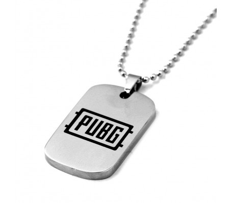 PUBG Necklace - Winner Winner Chicken Dinner Stainless Steel Dog Tag Pendant Bead Chains Fashion Jewelry for Women Men