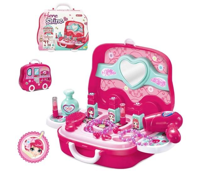 Beauty & Fashion Toys Creative Newest Girls Princess Makeup Box Set Make Up Case Powder Blush Cosmetic Set Kids Makeup Playing Toys For Girl Gift Cosmetic Set Ideal Gift For All Occasions Toys & Hobbies