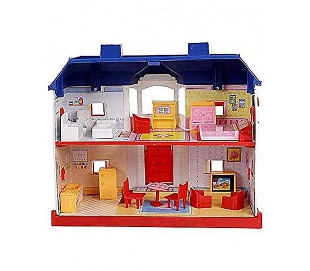 My Country Doll House Playset with Living Room ,Bed Room ...