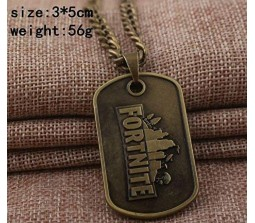 Fortnite Game Pendant Necklace Brass Alloy Pendant
