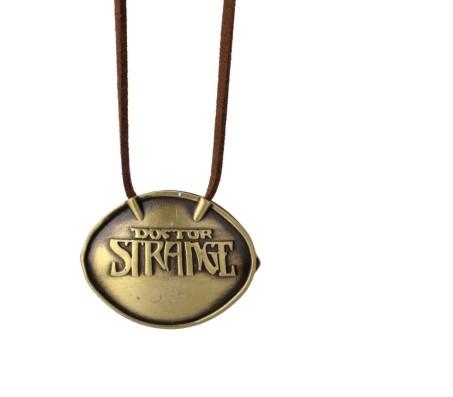 Doctor Strange Time Stone Antique Pendant Necklace Alloy Pendant