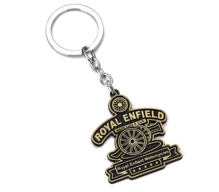 Royal Enfield Bullet Bike Classic Logo Metal Key Chain Keychain for Car Bike Men Women Keyring