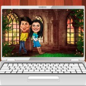 Digital Caricature For Couples