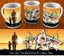 Best Dad Mug With 3 Star Photo Option