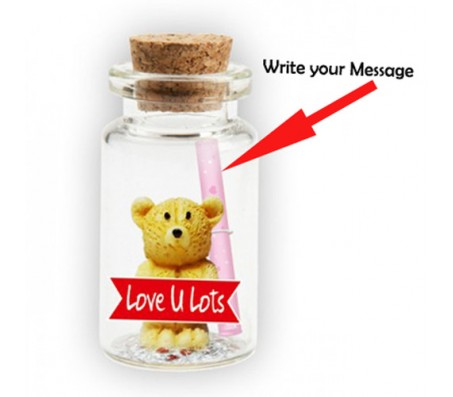 Message in A Bottle With Teddy & Love You Lots Cut